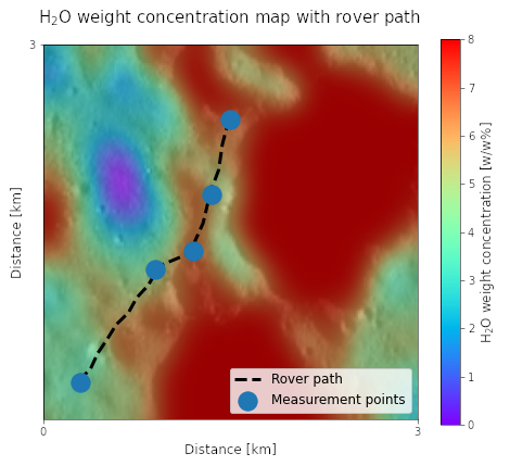 The payload measurement of Puli Space aims to map lunar hydrogen (mainly H2O, i.e. water ice) resources mounted on a small lunar rover